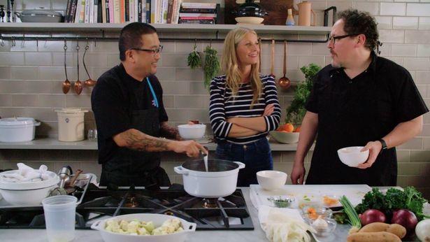 ジョン・ファヴローがホストを務める料理番組「ザ・シェフ・ショー ~だから料理は楽しい!~」