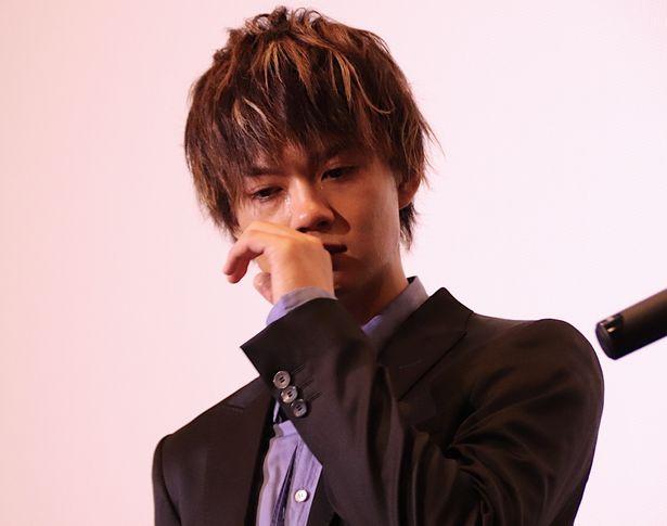 【写真を見る】熱い涙を流した佐野勇斗