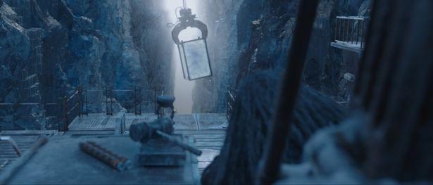 雪に囲まれた不義地獄。罪人は氷漬けにされてしまう!