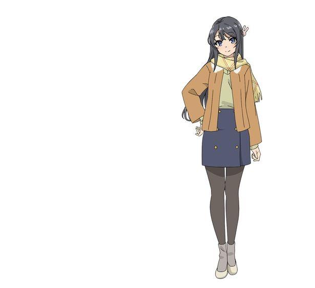 図書館でバニーガール姿という衝撃の登場だった桜島麻衣