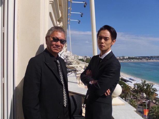 カンヌ国際映画祭は常連の三池監督と、初参戦となった窪田正孝