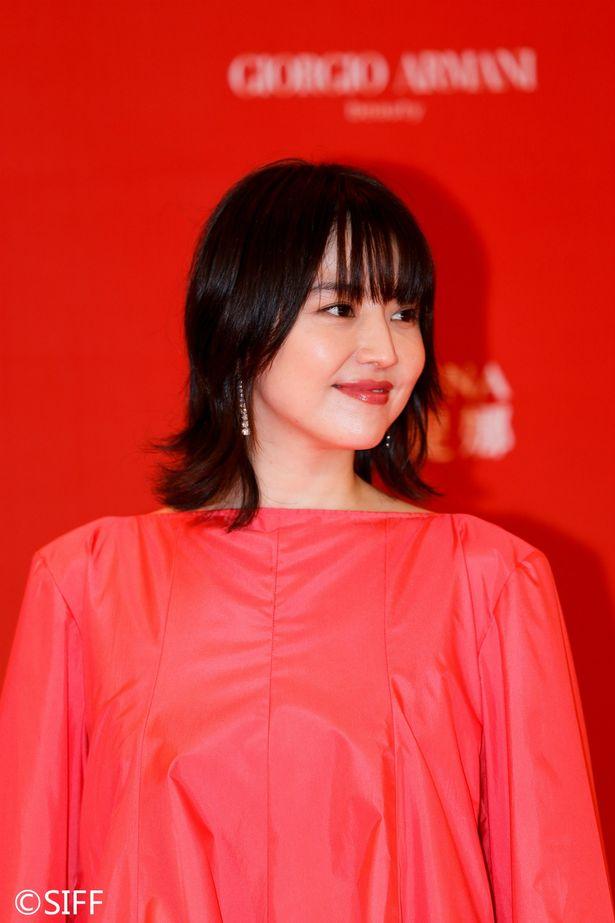 第22回上海国際映画祭閉幕式に長澤まさみが登場