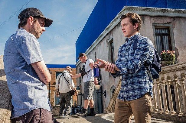 トム・ホランドを演出する『スパイダーマン:ファー・フロム・ホーム』のジョン・ワッツ監督