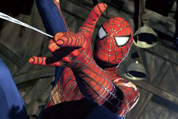 マグワイア版では力を得た直後は、 うまくスパイダーウェブを発射できなかった(写真は『スパイダーマン2』)