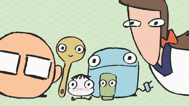 伊藤園Webアニメーション「となりのおにぎり君」