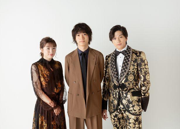 山崎賢人、新田真剣佑、永野芽郁に直撃インタビュー!