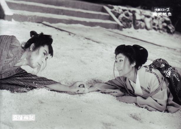 雷蔵と勝新太郎の共演作は、『薄桜記』や『弁天小僧』などが上映される