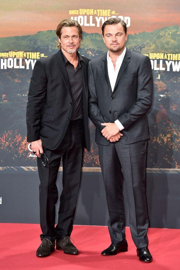 背丈もほぼ一緒で、スタントマンと俳優という役柄にぴったりのキャスティングだった2人