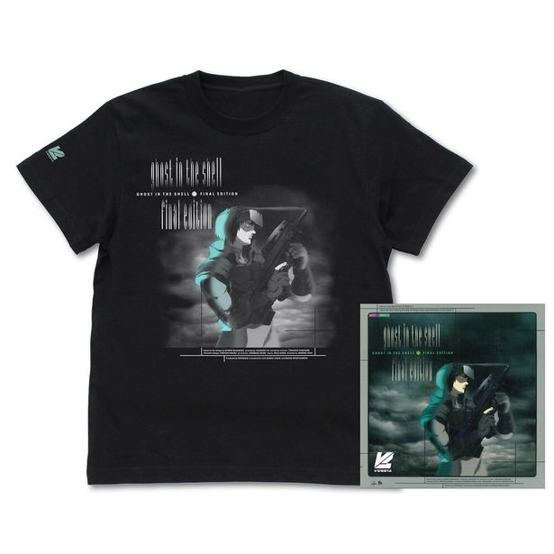 GHOST IN THE SHELL / 攻殻機動隊 FINAL EDITION DVD パッケージ Tシャツ