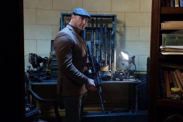 いまをときめくアクション俳優のデイヴ・バウティスタは『大脱出2』から登場した