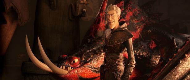 """【写真を見る】松重豊が日本語吹替えを務める、本作最大の敵ドラゴンハンター""""グリメル"""""""