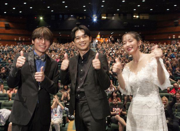 シッチェス・カタロニア国際映画祭での公式上映に吉沢亮、吉岡里帆、長井龍雪監督が登壇!
