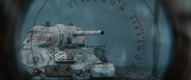 狙われる戦車