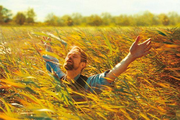 美しい自然を全身で体感するゴッホ(『永遠の門 ゴッホの見た未来』)