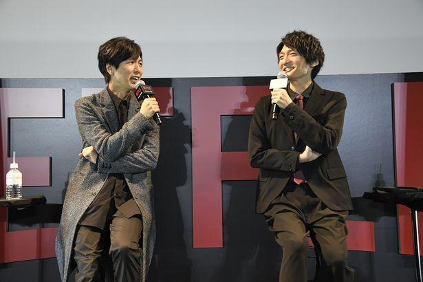 【写真を見る】声優の神谷浩史と島﨑信長もゲストで登場!