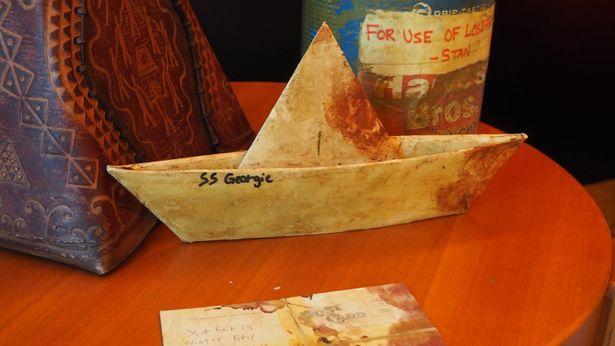 トラウマの象徴ともいえるジョージィの船