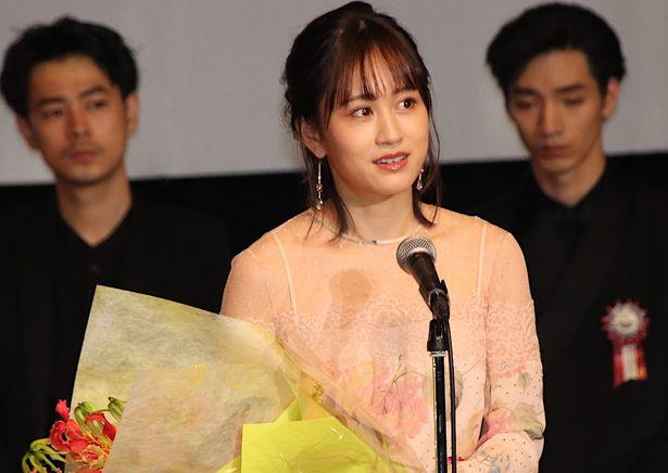 最優秀女優賞の前田敦子