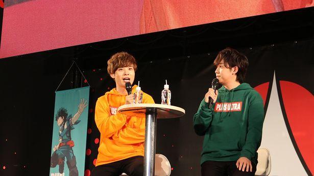 【写真を見る】トークイベントに登場した山下大輝と岡本信彦が語ったこととは?
