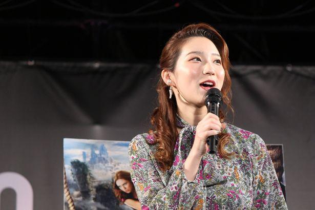 ファーストサマーウイカが『ジュマンジ/ネクスト・レベル』のステージイベントに登場!