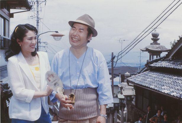 第27作『男はつらいよ 浪花の恋の寅次郎』で、大阪の芸者・ふみを演じた松坂慶子