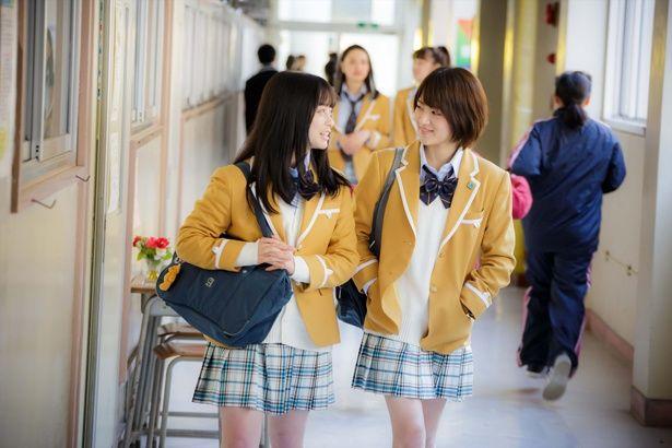 怜奈とはるかを演じた橋本&若月は『今日から俺は!!』でも共演しており仲良し