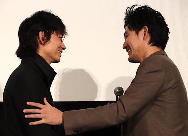 松田龍平のギャップに会場も笑顔!