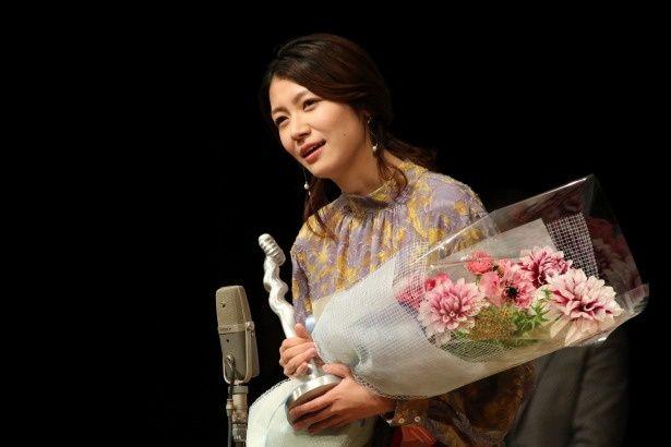 最優秀新人賞を受賞した『火口のふたり』の瀧内公美