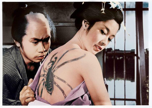 谷崎潤一郎原作の『刺青』は4Kデジタル復元版で日本初披露!