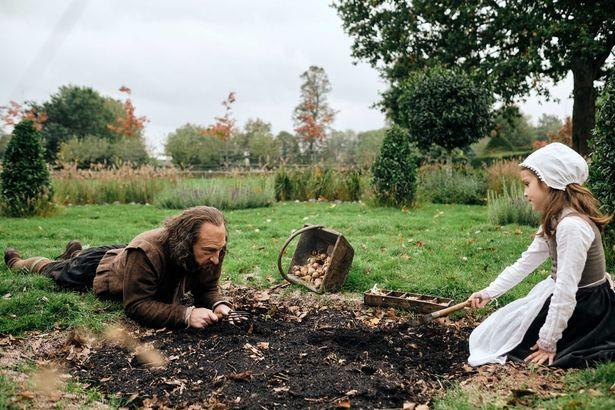 執筆を辞めてしまったシェイクスピアは故郷で庭作りを始める