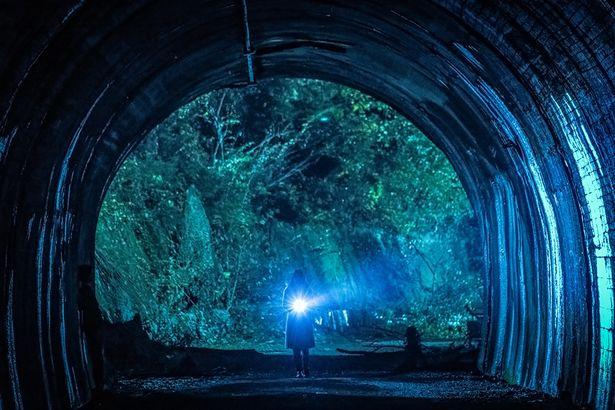 【写真を見る】超怖い…!これが福岡県に実在する心霊スポット「犬鳴トンネル」だ!