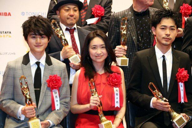 第74回毎日映画コンクールの表彰式が開催