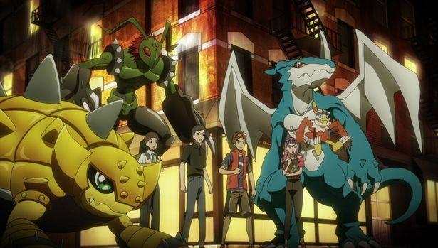 【写真を見る】本宮大輔やブイモン、一乗寺賢にワームなど、「デジモンアドベンチャー02」のメンバーも登場!