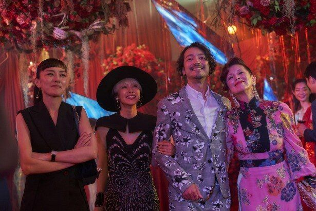 リミの仕事仲間を演じる夏木マリ、板谷由夏、金子ノブアキ