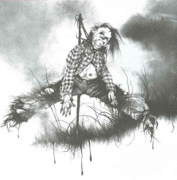 カカシのハロルドなど、挿絵に忠実に再現されているモンスターたち