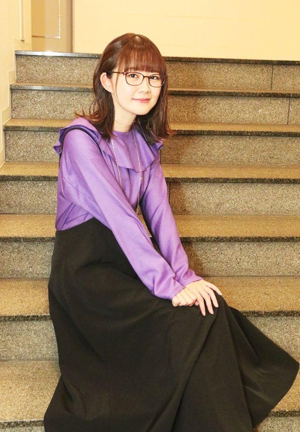 【写真を見る】イリヤを彷彿させる衣装を着た声優・門脇舞以!