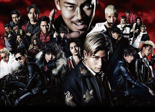 映画版第1作『HiGH&LOW THE MOVIE』は興行収入21.1億円を記録する大ヒットに