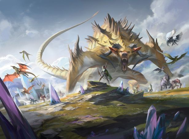 「イコリア:巨獣の棲処」の舞台は巨獣たちが生息する次元