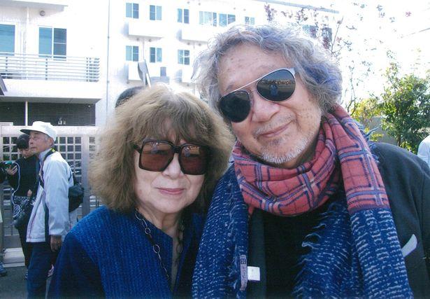 大学在学中に出会った恭子夫人と、生涯の伴侶として連れ添った