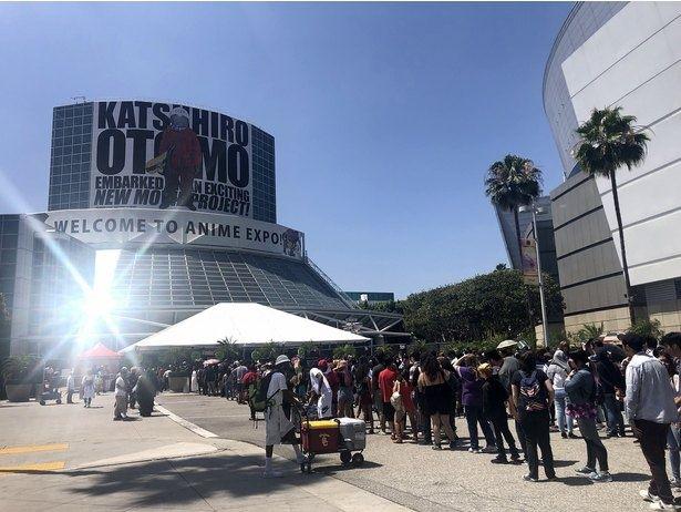 昨年は大友克洋ら多数のゲストがロサンゼルスでファンと交流