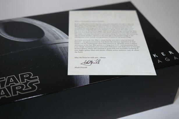 マーク・ハミルからファンへの手紙だった!