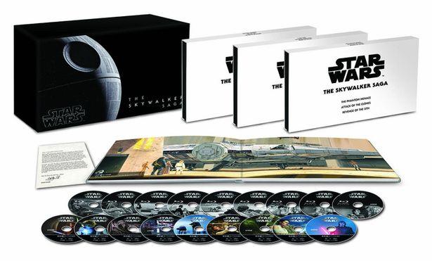 シリーズ9作を収録した『スター・ウォーズ スカイウォーカー・サーガ 4K UHD コンプリートBOX』が発売中!