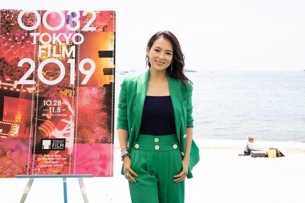【写真を見る】第32回東京国際映画祭の審査委員長はチャン・ツィイーが務めた