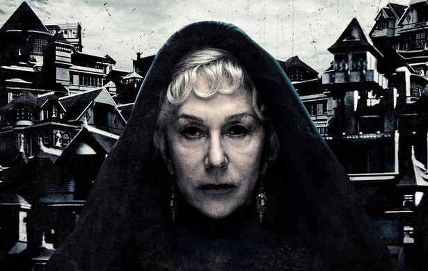 オスカー女優のヘレン・ミレンが屋敷の増改築を繰り返す女主人を演じる(『ウィンチェスターハウス アメリカで最も呪われた屋敷』)