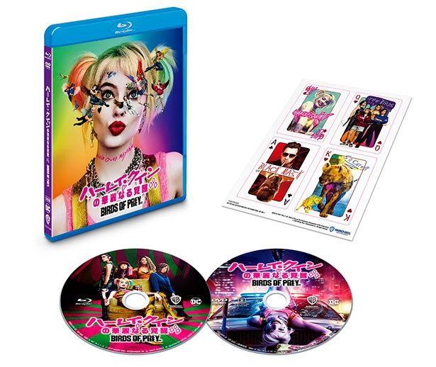 【写真を見る】初回仕様のブルーレイ&DVDセット、4K ULTRA HD&ブルーレイセットには特典映像や、キャラクターステッカーが付く