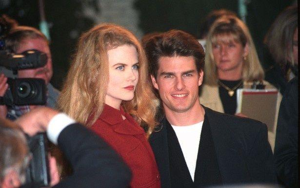 1990年に結婚し、2001年に離婚したトム・クルーズとニコール・キッドマン