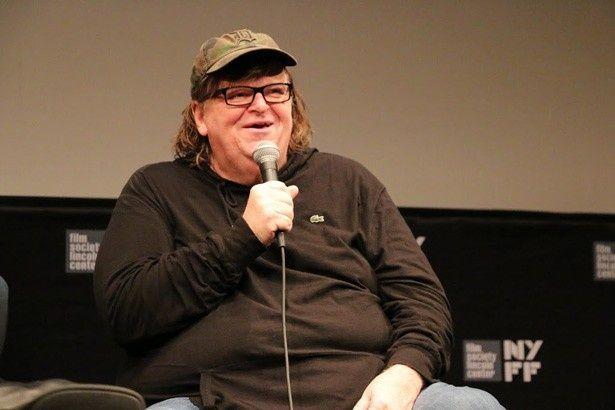 新作『Where to Invade Next』を引っさげ第53回ニューヨーク映画祭に登場したマイケル・ムーア監督