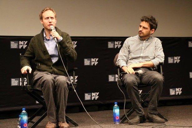 カンヌでグランプリに輝いた『Son of Saul(英題)』のラズロ・ネメス監督と、主演のゲザ・レーリヒ