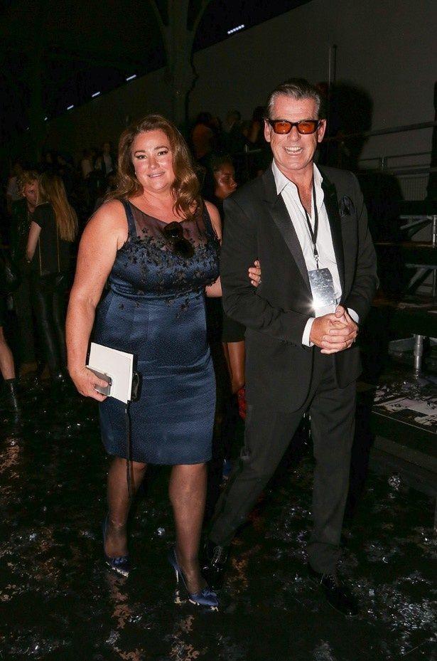 ピアース・ブロスナンと妻のキリー・シェイ・スミス