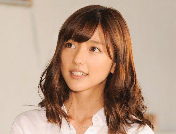 学園No.1の美女、上田莉緒を演じた真野