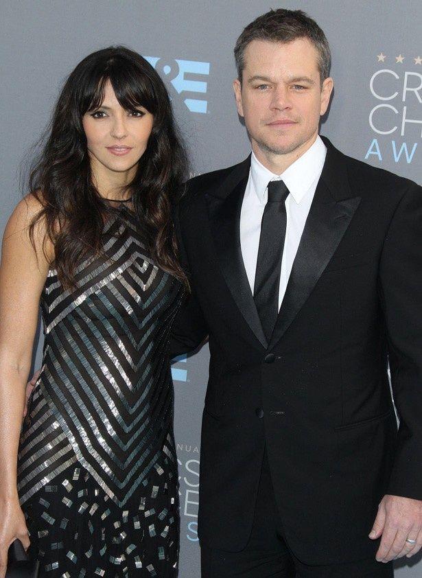 マット・デイモンと妻のルシアナ